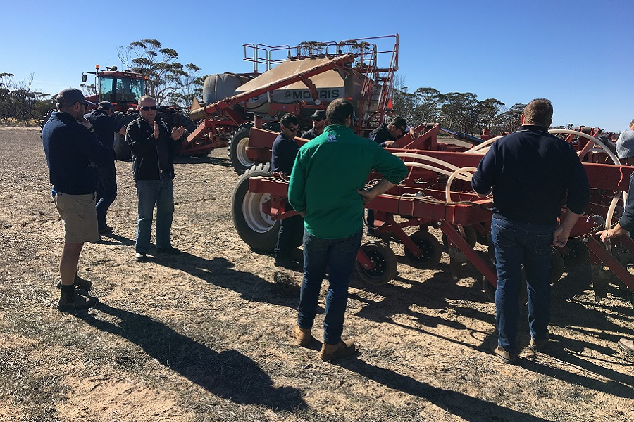 Growers look on Quantum Drill