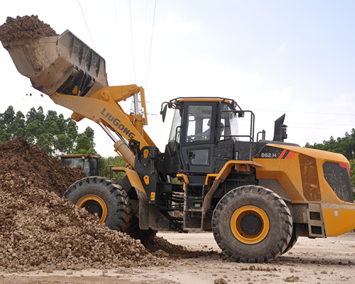 Wheel Loaders 862H Series